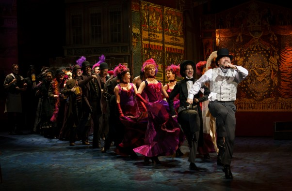 "Danny Burstein and company, ""Get Me To The Couch on Time"""