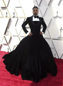 Billy Porter on the Oscar red carpet