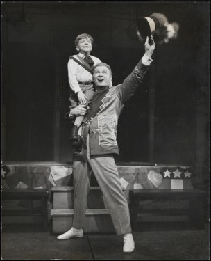 EDdie Albert in The Music Man
