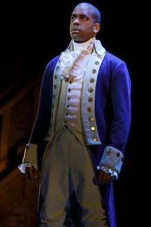 Daniel Breaker as Aaron Burr