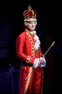 Evan Morton as King George