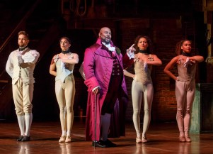 "James Monroe Iglehart is the current Thomas Jefferson on Broadway in ""Hamilton"""