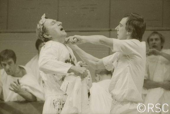 Julius Caesar_ 1972_ Brutus stabs Caesar_1972_Photo by Reg Wilson _c_ RSC_62943