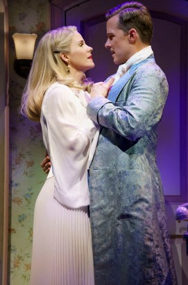 Kiss Me Kate 5 Kelli O'Hara and Will Chase