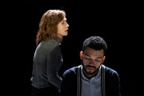 Isabelle Huppert and Justice Smith in The Mother