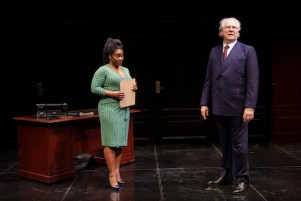 Stacey Sergeant and John Larroquette