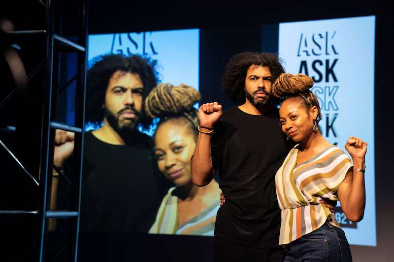 Daveed DIggs and Sheria Irving