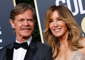 William H. Macy and Feliciy Huffman