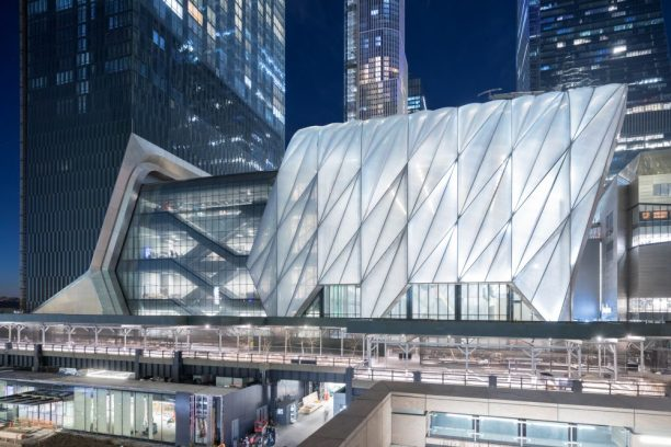 """""""Evening view of The Shed from 30th Street"""""""