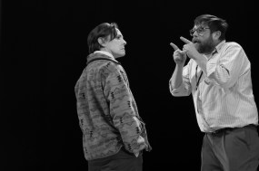 Laurie Metcalf and Zak Orth