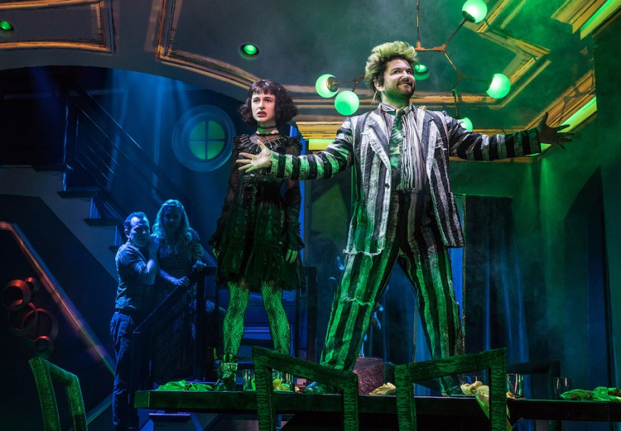 Beetlejuice Review A Broadway Musical Adapted From Tim Burton S Comic Macabre Movie New York Theater