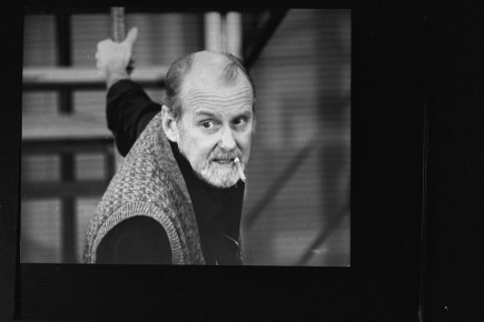 """Director/choreographer Bob Fosse at a rehearsal for the Broadway production of the musical """"Big Deal."""" 1986. He died the following year."""