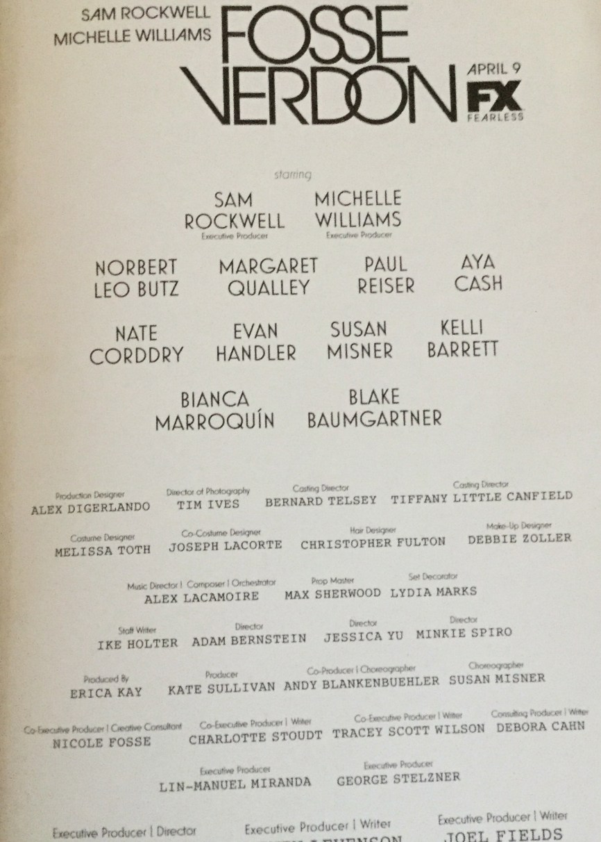 First page of credits