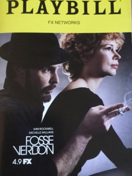 Fosse Verdon fake Playbill