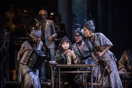 Eva Noblezada and Broadway cast