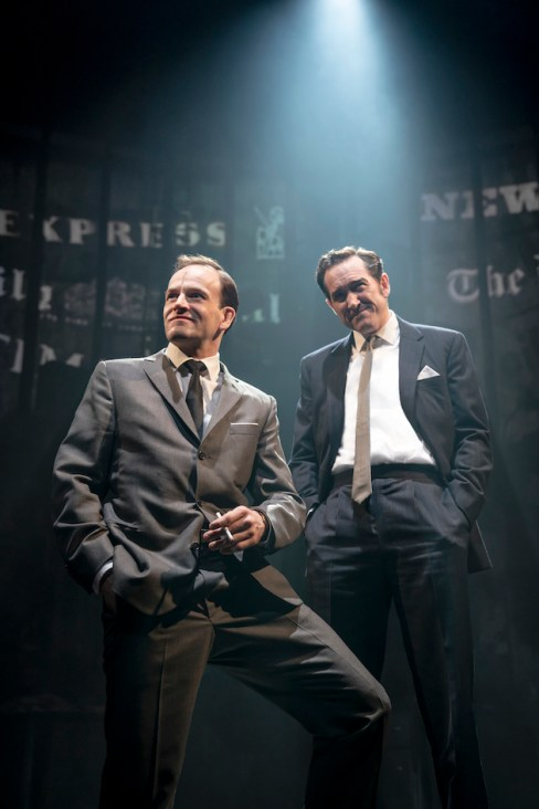 Jonny Lee Miller and Bertie Carvel