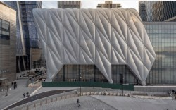 View of the Shed from Hudson Yards