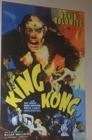 King Kong poster at York
