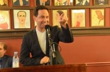 Santino Fontana, lead actor in a musical, Tootsie