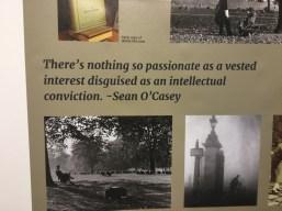 Sean O'Casey exhibition 3