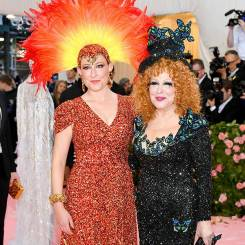 Sophie Von Haselberg and her mother Bette Midler