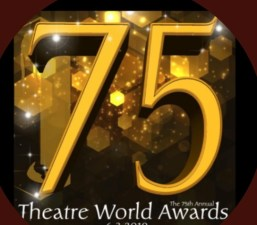 75th Theatre World Awards logo