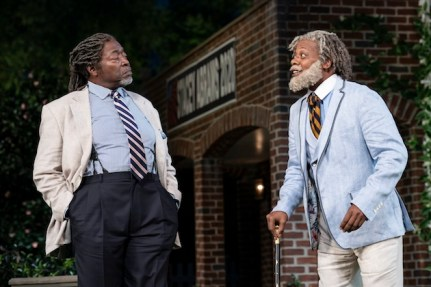 Chuck Cooper as Leonato and Erik Laray Harvey