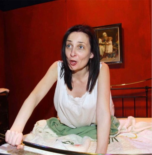 Eilin O'Dea as Molly Bloom by James Joyce at The Theater at 244.