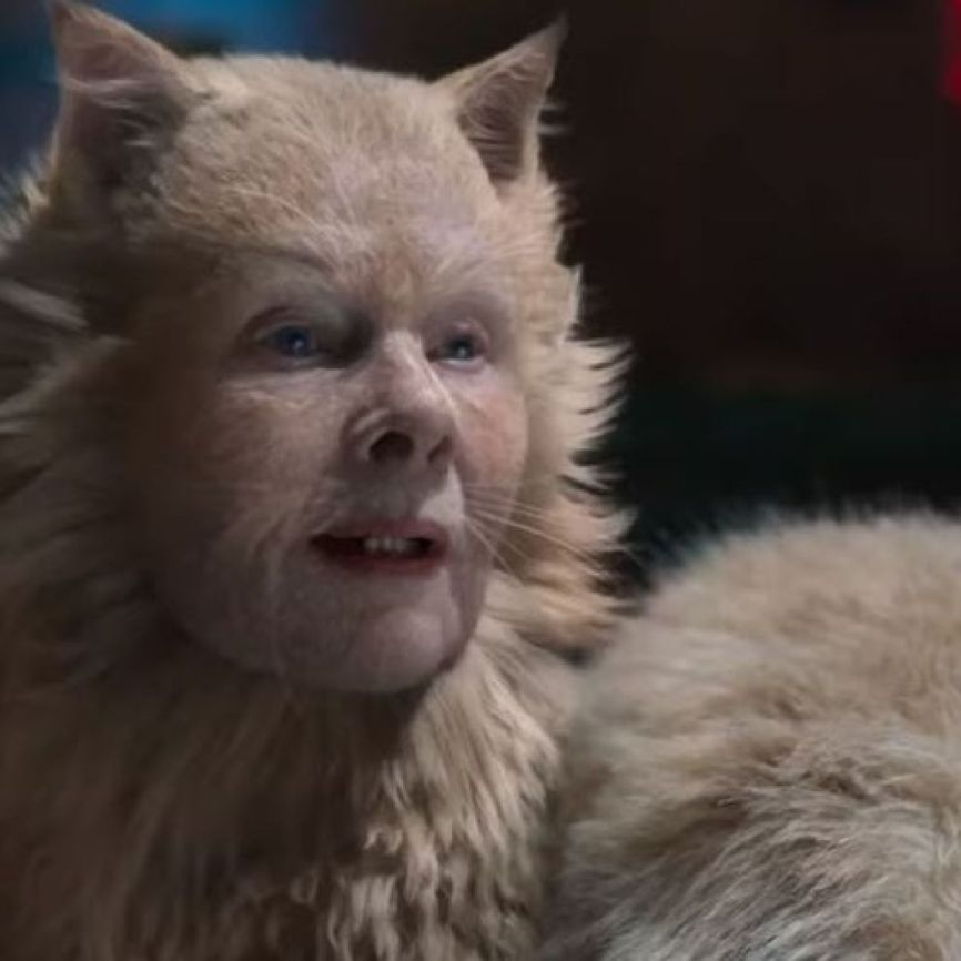 Dame Judy dench in Cats