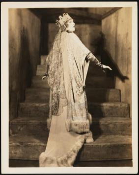 Florence Reed as Lady Macbeth 1928