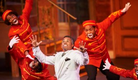 """Jelly's Last Jam, written by George C. Wolfe, performed by North Carolina Black Repertory Company of Winston-Salem, NC. The Tony award-winning musical that tells the true story of Ferdinand Joseph LaMothe, a.k.a. Jelly Roll Morton, the self-proclaimed """"inventor of Jazz."""""""
