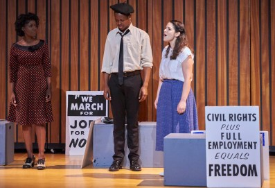 March On Written and directed by Daniel Carlton, performed by Blackberry Productions of New York, NY. The journeys of three people who attended the 1963 March on Washington.