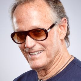 """Henry Fonda's son: That's how everybody identified me until Easy Rider came along."" Peter Fonda, 79, who was also a Broadway veteran, appearing in the 1961 ""Blood, Sweat and Stanley Poole"""