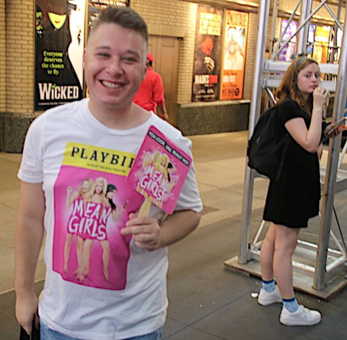 Broadway Flea Mean Girls boy