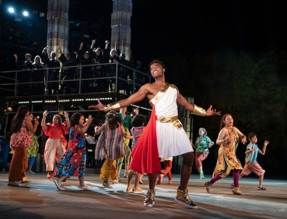 Jelani Aladdin as Hercules and company