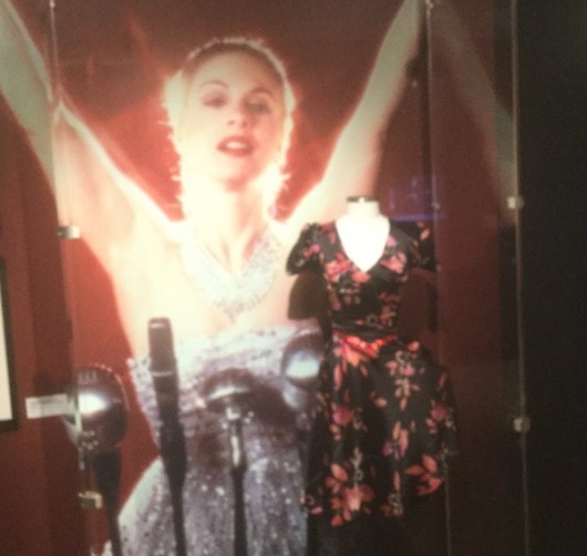 "Buenos Aires dress worn by Patti LuPone in the Australian production of ""Evita"" 1981"