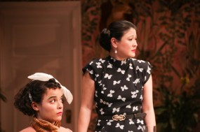 Juliana Canfield (Christina) and Jennifer Lim (Cindy)