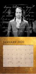 Hamilton 2020 calendar