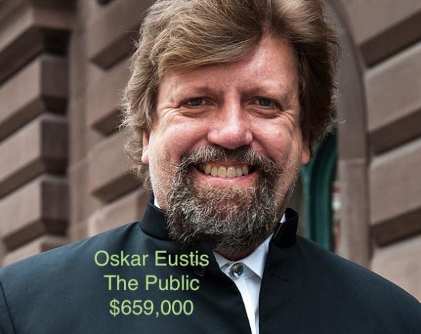 Oskar Eustis Public salary
