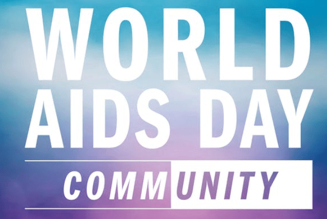 World AIDS Day community poster