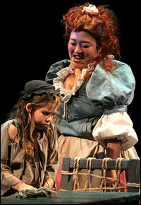 "Harada as Madame Thénardier in Les Miserables: ""Oh, that was a dream to be able to do that show. ..I never thought I would ever be considered for it."""