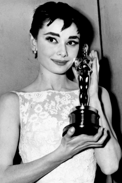 Oscar-winner Audrey Hepburn