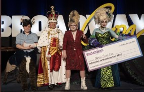 Cosplay winner and top finalists.