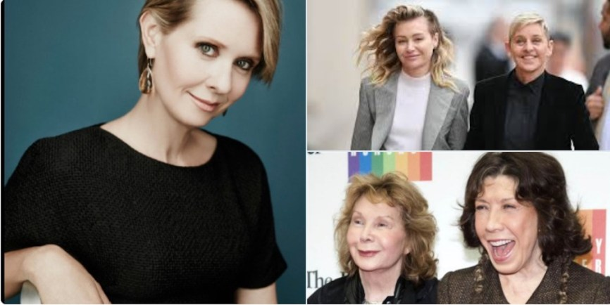 "Lesbians on Broadway! Cynthia Nixon is set to direct a Broadway production of Jane Chambers's 1980 play ""Last Summer at Bluefish Cove,"" about Lesbians on summer vacation. Ellen DeGeneres, Lily Tomlin and their respective spouses will produce. Cast, details to be announced. Meanwhile, a play about an iconic blues signer who was a lesbian, is currently running Off-Off Broadway. (See below)"