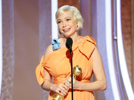 Michelle Williams got a Golden Globe as best actress in a limited series or TV movie for Fosse/Verdon. She is a two-time Broadway veteran, for Cabaret and Blackbird.