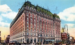 The Astor Hotel in Times Square was demolished, and replaced by...which Broadway theater?