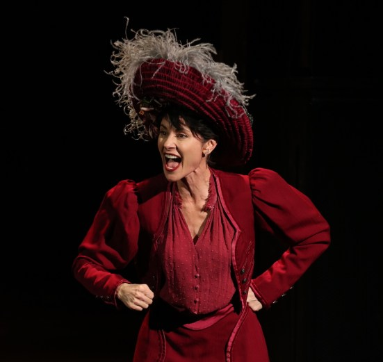 Beth Malone as Molly Brown in a revitalized The Unsinkable Molly Brown, with music by Meredith Willson (The Music Man) and a new book by Dick Scanlan (Thoroughly Modern Millie)