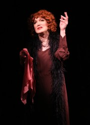 Charles Busch in the Confession of Lily Dare. The Off Broadway cast will read it in Plays in the House