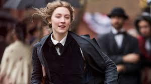 Saoirse Ronan, leading actress Little Women. Performed on Broadway in The Crucible in 2016.