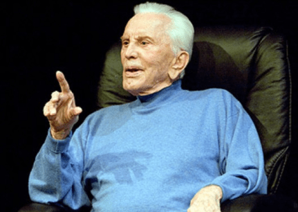 "In 2009, the 92-year-old actor appeared in a one-man show called ""Before I Forget"" at the Kirk Douglas Theater in Culver City"